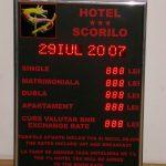 Hotel panel