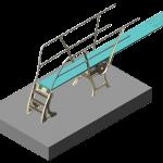 DURAFLEX - 1M stand