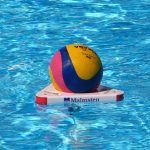 Water polo release ball system